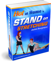 Hot at Home Stand on Stretching Book