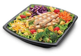 Salads At Fast Food Restaurants Are A Better Choice