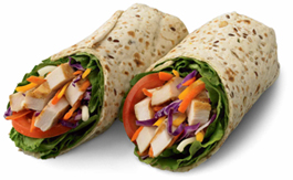 Grilled Chicken Wraps Are A Healthier Option