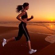 Sunset Beach Running