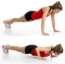 Power Push-Up Blast