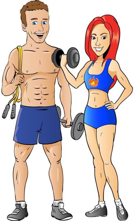Hot at Home Girl & Hot at Home Guy