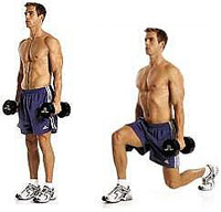 Lunges Build Great Glutes