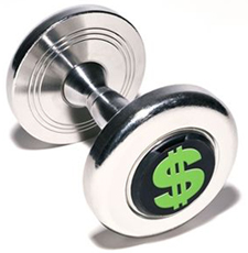 Exercise equipment can be costly but doesn