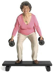 Older Woman Exercising