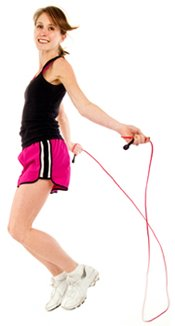 Jumping Rope is Good Exercise