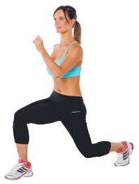 Bodyweight Lunges Exercise