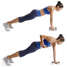 Renegade Rows Are A Good Ab Exercise