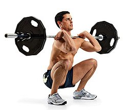 Squat Cleans Are Very Effective Fat Burning Exercises
