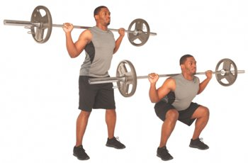 Barbell Squats Are A Very Effective Exercise