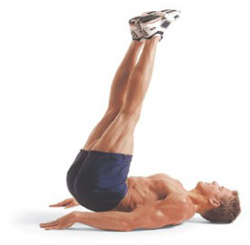 Lower Abdominals Exercise Hip Lifts