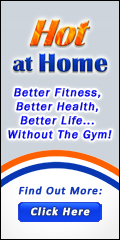 Hot at Home Banner 120x240 Better Life Tagline with Button