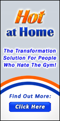 Hot at Home Banner 120x240 Transformation Solution Tagline with Button