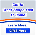 Hot at Home Banner 125x125 Great Shape Tagline with Button